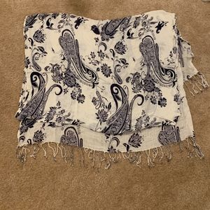 Lucky Brand Scarf with Fringe